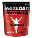 glico グリコ MAXLOAD(マックスロード) ホエイプロテイン ミルク風味 3kg