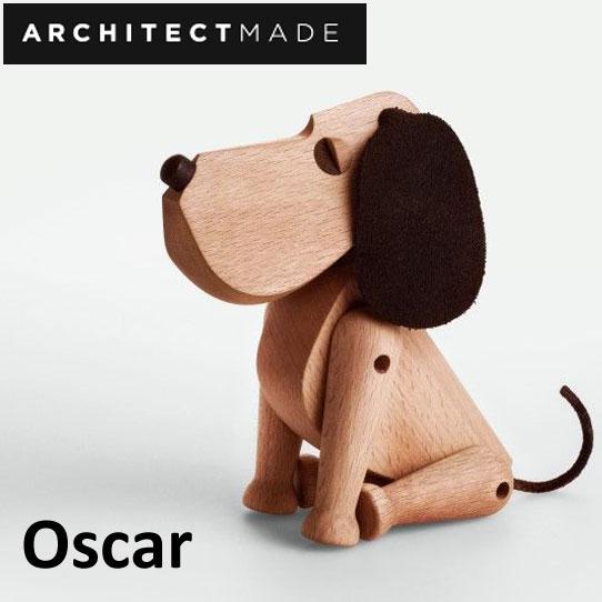 【あす楽対応】ARCHITECTMADE アーキテクトメイド Oscar オスカー 木製オブジェ 犬 置き物 置物 おもちゃ 北欧 デンマーク ミッドセンチュリー