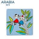 【SALE】Arabia アラビア ムーミンデコツリー トフスランとビフスラン / Moomin Deco Tree Thingumy&Bob 壁掛け用プレート...