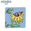 【SALE】Arabia アラビア ムーミンデコツリー リトルミィ / Moomin Deco Tree Little My 壁掛け用プレート インテリア 壁飾...