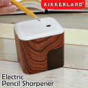 【あす楽対応】Kikkerland キッカーランド Electric Pencil Sharpener エレクトリックペンシルシャープナー / 電動 鉛筆削り えんぴつ削り 自動 電池式 コンパクト 小型 おしゃれ