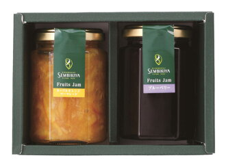 Senbiki Shop Home Office (sennbikiya) fruit jams (2 jar pieces).