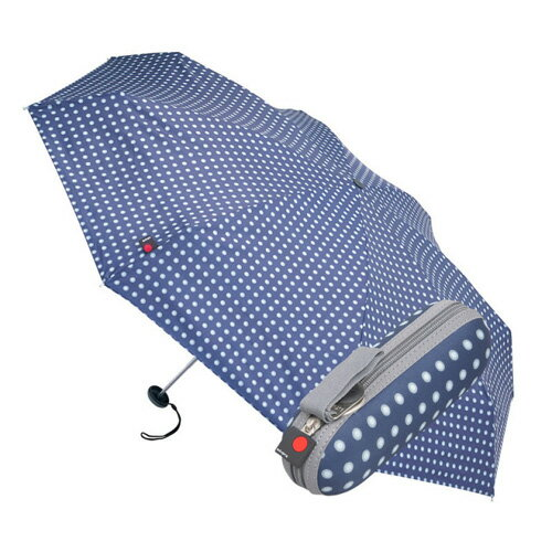 Knirps X1 (クニルプス) 折畳み傘  / ネイビードット 【送料無料】【smtb-F】 【10P03Dec16】【RCP】 特許の