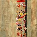 楽天ニコアンティーク縮緬工芸品。子供の成長を願う贈り物として。『京都のつるし飾り ちりめん おまかせ7個つるし×5本』つるし雛/誕生日/雛祭り/子供の日/七五三/新春/お正月/お祝い/和雑貨/インテリア/プレゼント/ギフト/ニコアンティーク 04-08-13-007