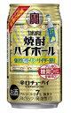 タカラ 焼酎ハイボール 最強の炭酸〈強烈塩レモンサイダー割り〉350mlx1ケース(24本)