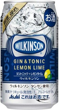 ウィルキンソン ジントニック+レモンライム350...の商品画像