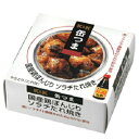 国内産原料にこだわったちょっと贅沢なおつまみ缶詰 K&K缶つま 国産鶏ぼんじり ソラチたれ焼き 45g