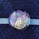 紫陽花の帯留(商品番号 WA-088)