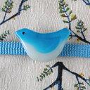小さい小鳥の帯留(商品番号 WA-213)