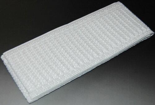 メッシュのマジックベルト(洗える・白色)【単衣・うすもの半襟】