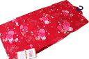 お仕立て上がり女の子浴衣-No.131(130サイズ/地色:赤色/9才〜10才女の子用)