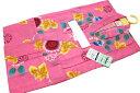 お仕立て上がり女の子浴衣-No.205(100サイズ/地色:ピンク色/3才〜4才女の子用※画像2枚目はサイズ参照用となります。)