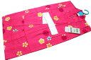 お仕立て上がり女の子浴衣-No.225(120サイズ/地色:ピンク色/7才〜8才女の子用※画像2枚目はサイズ参照用となります。)