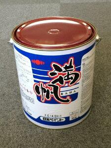 日本ペイント 満帆 赤 4kg レッド 『送料無料』 船底塗料