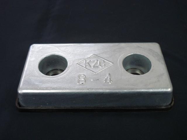 亜鉛板 KZC-B-4 30×100×200
