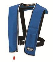 送料無料 自動膨張式ライフジャケット 青 LG-1 救命胴衣 桜マークの画像
