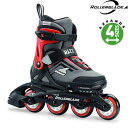ROLLERBLADE/MAXX/BLACK-BRIGHT RED