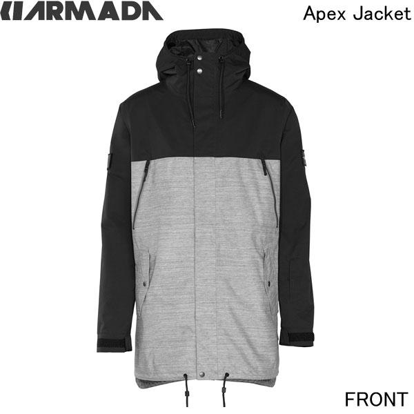 2015/2016ARMADA【Apex Jacket/Military/15MJA-APE-BLK】XXL