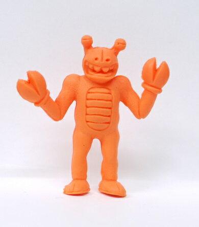キン消し(キンケシ) 超人 カニベース オレンジ キン肉マン消しゴム ゆでたまご【中古】