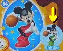 フルタ チョコエッグ ディズニーキャラクター8 84 ミッキーマウス(彩色違い・緑)【蒸気船ウィリー】