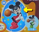 フルタ チョコエッグ ディズニーキャラクター8 84 ミッキーマウス(通常・赤)【蒸気船ウィリー】