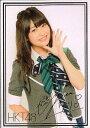 HKT48 トレーディングコレクション 中西智代梨 箔押しサインカード R036H