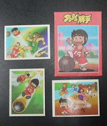 アマダ ダッシュ勝平 コレクションシール 1袋3枚入り 当時もの 80年代 駄菓子屋 昭和レトロ 8