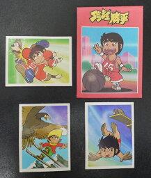 アマダ ダッシュ勝平 コレクションシール 1袋3枚入り 当時もの 80年代 駄菓子屋 昭和レトロ 26