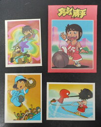 アマダ ダッシュ勝平 コレクションシール 1袋3枚入り 当時もの 80年代 駄菓子屋 昭和レトロ 28