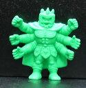 キン消し(キンケシ) 超人 アシュラマンの父 緑 キン肉マン消しゴム ゆでたまご【中古】