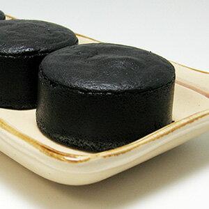 千年の香り千紀園竹炭で真っ黒濃チーズケーキ黒まる1セット6個入クール便配送月曜日着不可包装・のし不可