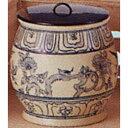 安南水指 遊船紋 越南製 水指(茶道具 通販 楽天)