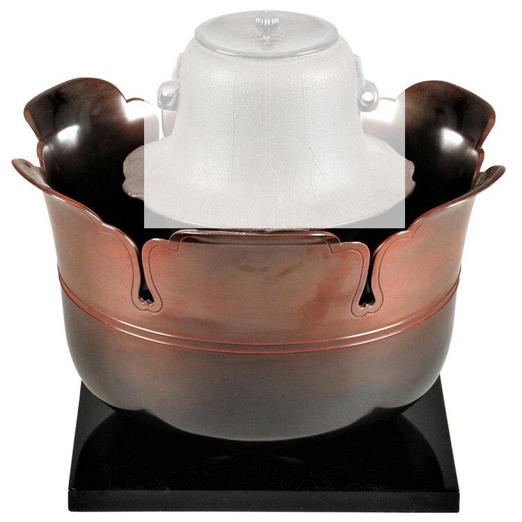 茶道具 風炉(ふろ) 唐銅宝鐸風炉 般若 勘渓