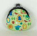 【古墳がまぐち GR 緑】かわいい お返し がま口 コインケース 小銭入れ ミニ財布 小さい アクセサリーケース