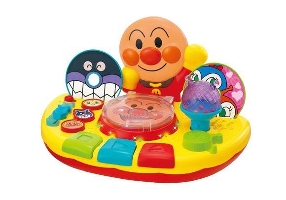 玩具アンパンマンディスクでYEAHうたっておどってミュージックプレイヤー