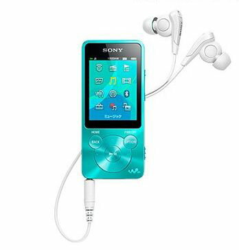 【オーディオ】SONY ウォークマン Sシリーズ 8GB ブルー NW-S14L 【970449】