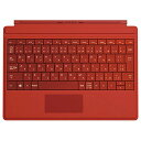 【PC周辺機器】Microsoft Surface 3 Type Cover ブライトレッド A7Z-00070