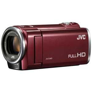 【ビデオカメラ】 JVC GZ-E66-R [レッド]・光学40倍 ・映像素子251万画素(裏面照射 CMOS) ・手ぶれ補正 【975158】