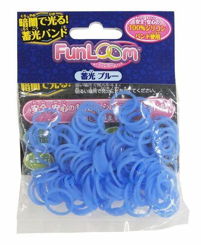 【TOY】ファンルーム バンド 蓄光ブルーの商品画像
