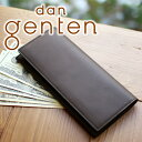 genten - 【選べる実用的プレゼント付】 dan genten ダン ゲンテン smart wallet(スマートウォレット)長財布 101850(101210)(革のお手入れ方法本付)メンズ 財布 長財布 ビジネス ギフト プレゼント