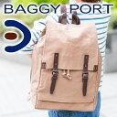 【選べる実用的ノベルティ付】 BAGGY PORT バギーポート 6号帆布ウォッシュ加工 リュック(バックパック) KBS-387メンズ バッグ リュックサック デイバッグ 大容量 大人 日本製 ギフト プレゼント