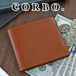 CORBO. コルボ-face Bridle Leather-フェイス ブライドルレザー シリーズ二つ折り財布 1LD-0228メンズ 財布 ブラウン グリーン 日本製 10P27May16 ポイント10倍 送料無料【楽ギフ_包装選択】