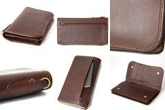 CORBO.(コルボ)-SLATE-スレートシリーズ小銭入れ付き薄型長財布8LC-9377[送料無料]風合いたっぷりのエイジングを愉しめる、イタリアンレザー(本革)の大人顔ウォレット。