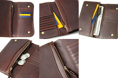 CORBO.(コルボ)-SLATE-スレートシリーズ小銭入れ付き薄型長財布8LC-9377[送料無料]風合いたっぷりのエイジングを愉しめる、イタリアンレザー(本革)の大人顔ウォレット。。