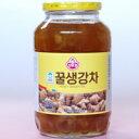 【韓国食品・健康茶・韓国お茶】体を温め冷えを取ります。蜂蜜生姜茶1kg炭酸で割るとジンジャエール!大人から子供までどうぞ。