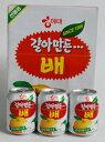 すりおろし梨ジュース・238ml1箱12本入り(韓国飲料、韓国ジュース、果物ジュース)