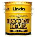 【送料無料】 Linda プロコート・デルタ【18kg】高濃度ワックス《横浜油脂工業正規代理店》【MA28】
