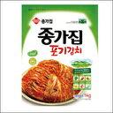 ◆冷蔵◆ 宗家 ポギキムチ 1kg (チョンガ)  【韓国食品・韓国料理・韓国食材・おかず】【韓国お土産・輸入食品・非常食・激安】