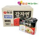 ■『農心』ジャガイモ麺 117g【1BOX-40個】■韓国食...
