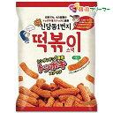 『シンダンドン』 1番地 トッポキスナック 75g 韓国お菓子 お菓子 韓国 カリカリスナック トッポキ味